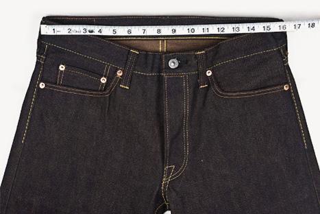 d873f41b Measuring Jeans. —. Measured Waist