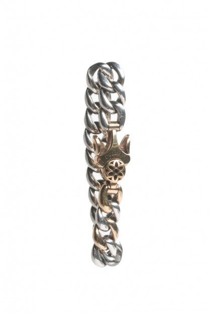 Good Art Model 10AA Bracelet w/ 22K Gold Clasp/Button & 2 22K Links