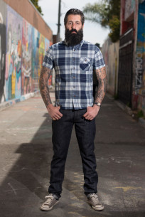 3sixteen+ 40BSP 16.5oz Caustic Wave Denim  - Straight Tapered - Image 0