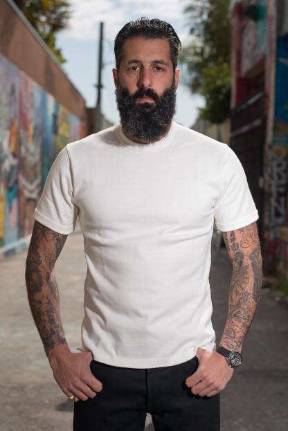 Iron Heart Super Duper Heavy 11oz T-Shirt - Heavy White