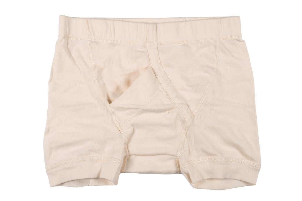 Stevenson Tanguis Cotton Athletic Boxer Briefs - Natural - Image 1