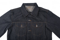 3sixteen+ 16.5oz Caustic Wave Denim - Type III Modified Jacket - Image 3
