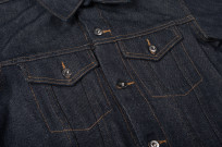 3sixteen+ 16.5oz Caustic Wave Denim - Type III Modified Jacket - Image 5