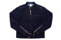 Iron Heart Rider's Jacket - Indigo - Image 2