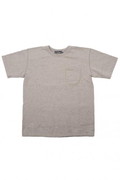 Studio D'Artisan Suvin Gold Loopwheeled T-Shirt - Heather Gray