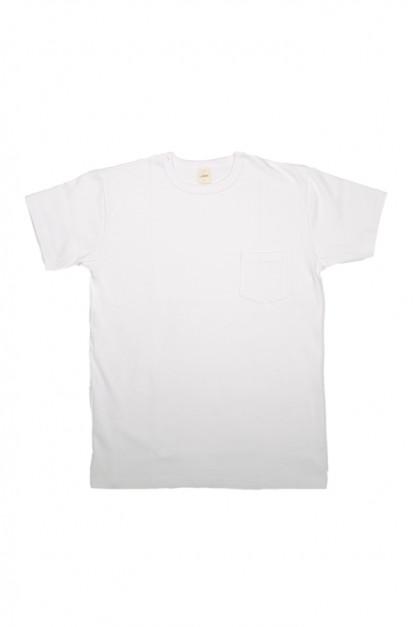3sixteen Heavyweight T-Shirts / 2-Pack - White w/ Pockets