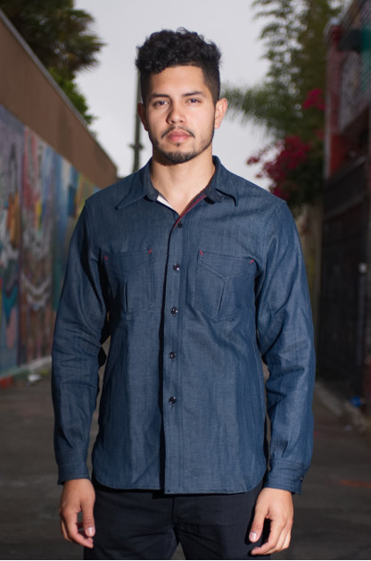 Mister Freedom Ranger Shirt - NOS Denim
