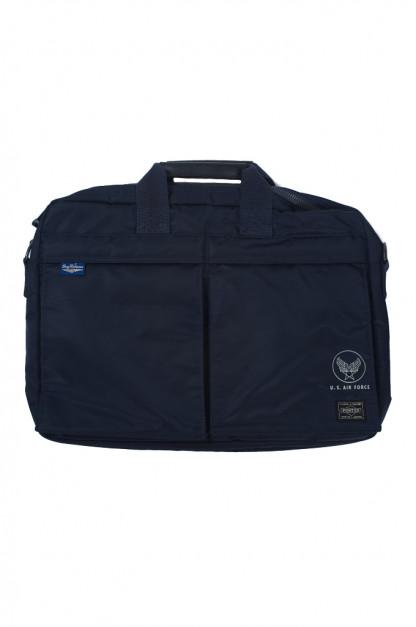 Buzz Rickson x Porter 2-Way Briefcase