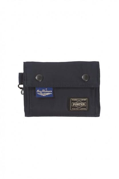 Buzz Rickson x Porter Tri-Fold Wallet - Navy