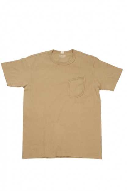 "Lady White ""Clark"" Pocket Tee - Khaki Fog"