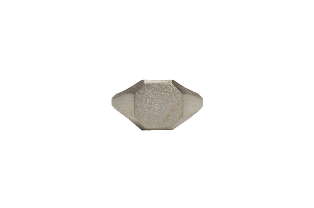 Neff Goldsmith Signet Ring - Sterling Silver - Image 1