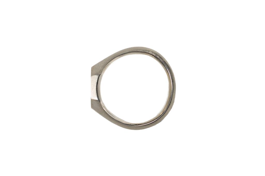 Neff Goldsmith Signet Ring - Sterling Silver - Image 3