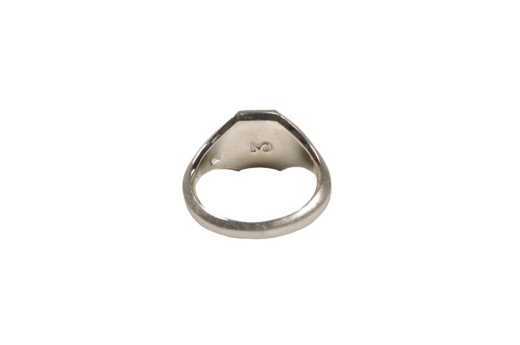 Neff Goldsmith Signet Ring - Sterling Silver - Image 4