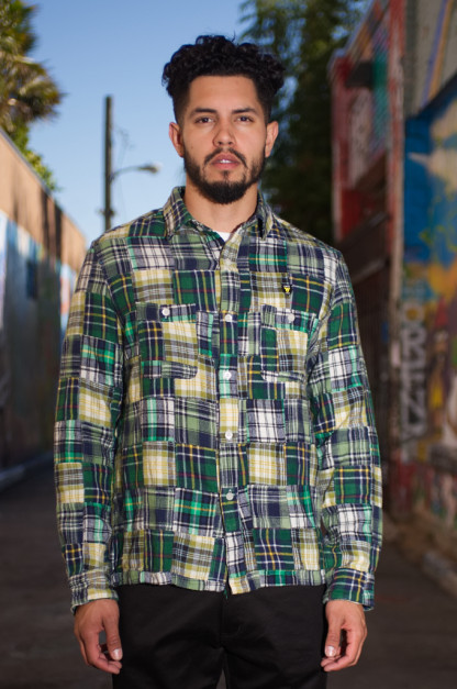 Human Made Wild Patchwork Shirt