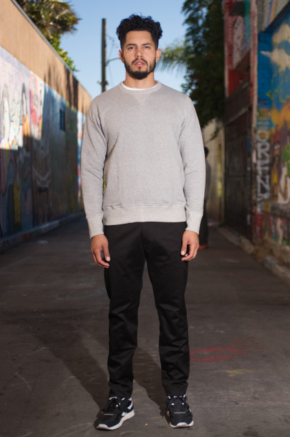 Monitaly Slim Vancloth Pants - Black