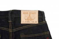 Iron Heart 888s 21oz Denim Jean - High Rise Straight Tapered - Image 6