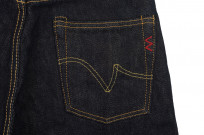 Iron Heart 888s 21oz Denim Jean - High Rise Straight Tapered - Image 7