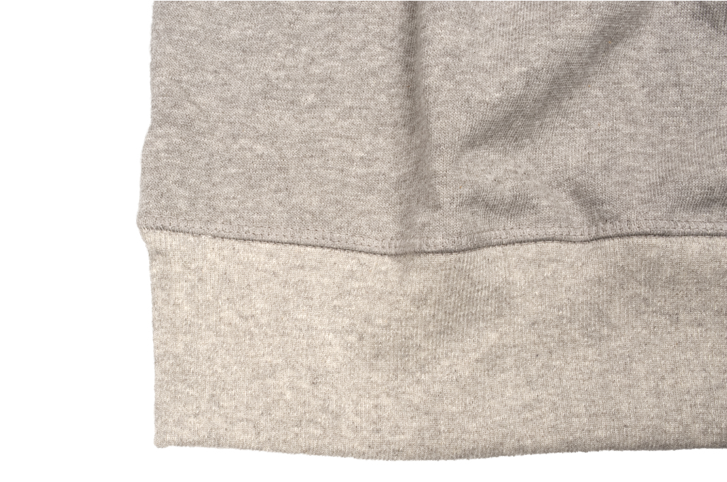 Merz b. Schwanen Heavy Weight Crewneck Sweater - Gray - Image 6