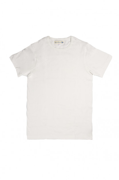 Merz b. Schwanen 2-Thread Heavy Weight T-Shirt - White