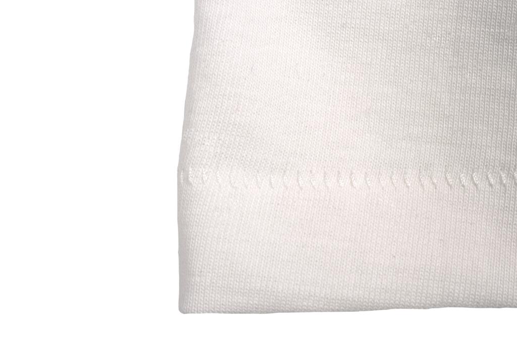 Merz b. Schwanen 2-Thread Heavy Weight T-Shirt - White - Image 3