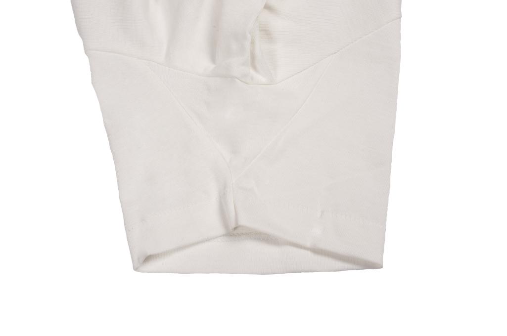 Merz b. Schwanen 2-Thread Heavy Weight T-Shirt - White - Image 4