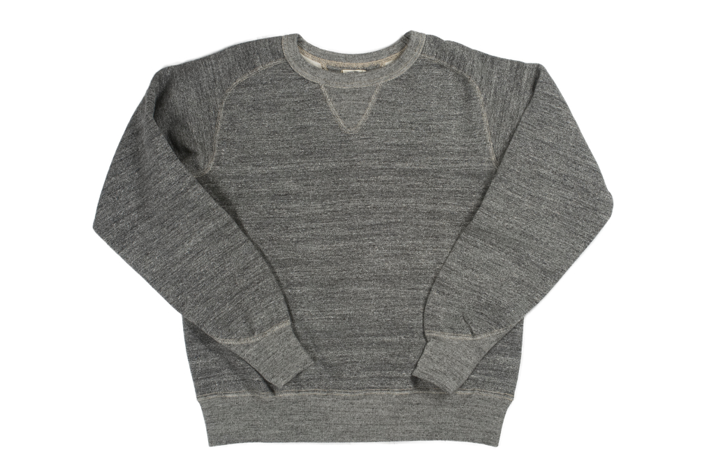 Stevenson Loopwheeled Extra Long Staple Cotton Sweatshirt - Gray - Image 2