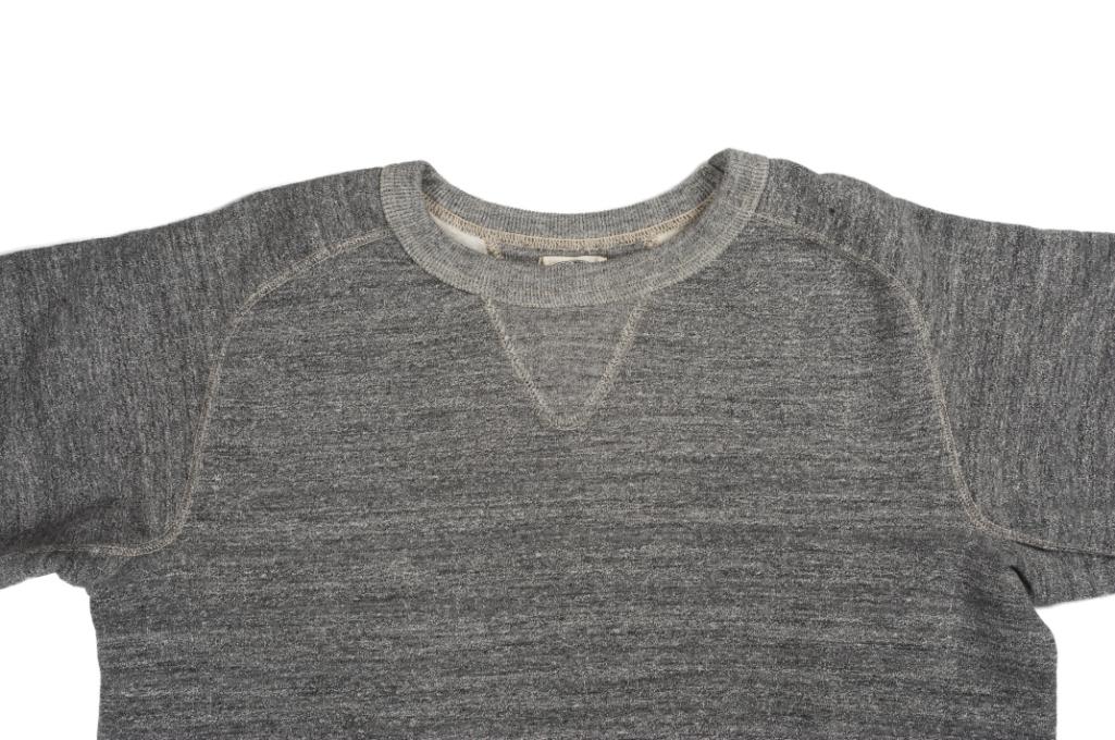 Stevenson Loopwheeled Extra Long Staple Cotton Sweatshirt - Gray - Image 3