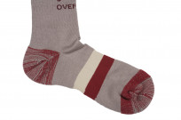 Stevenson Branded Solid Socks - Gray - Image 3