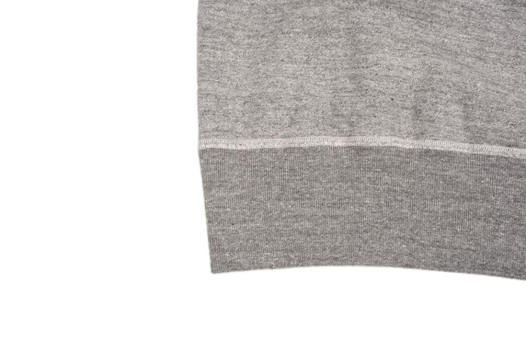 Buzz Rickson Flatlock Seam Crewneck Sweater - Gray - Image 8