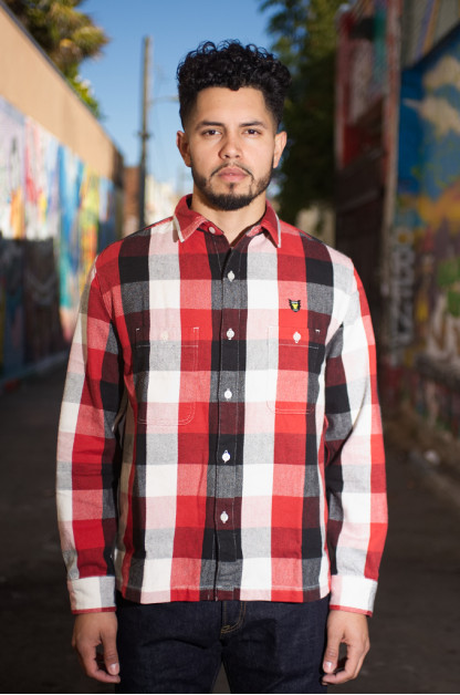 Human Made Heavy Check Flannel Shirt