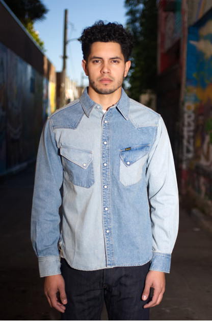 Studio D'Artisan Mental Parfait Denim Shirt