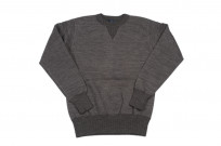 Studio D'Artisan Loopwheeled Sweater - Suvin Gold Heather Black - Image 2