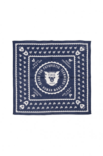 Human Made Bandana - Navy