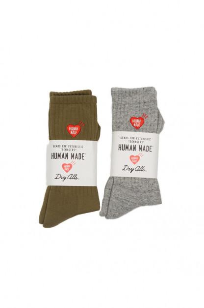 Human Made Pile Blend Socks