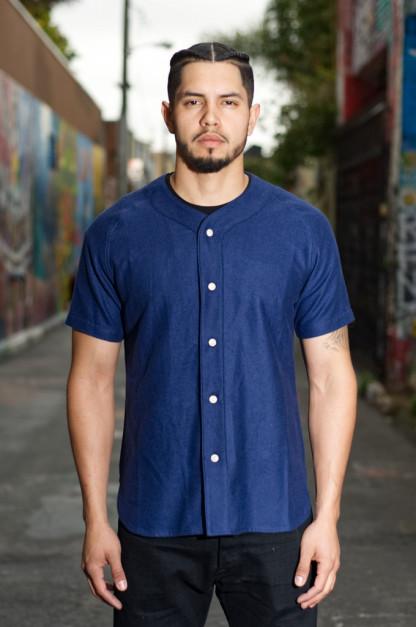 3sixteen Fourth Base Baseball Shirt - Navy