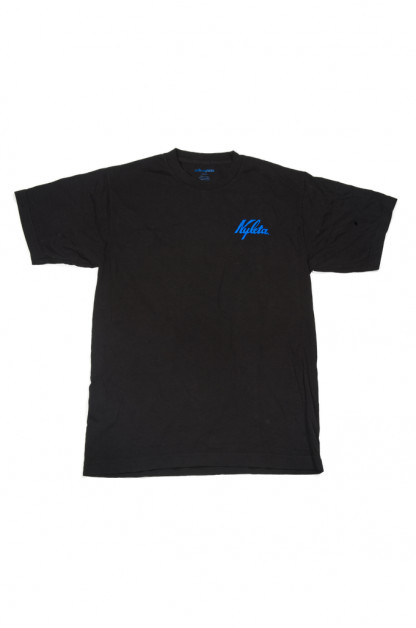 Cafe Nyleta Dripper Tee - Black Short Sleeve