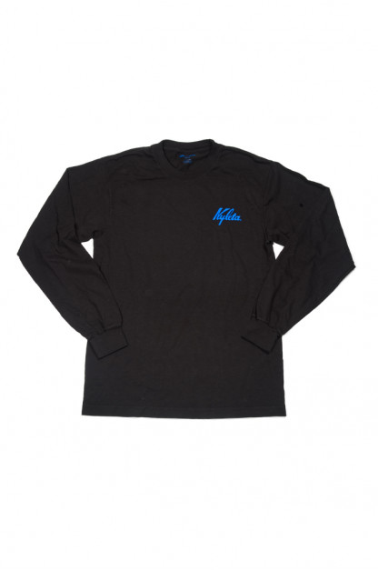 Cafe Nyleta Dripper Tee - Black Long Sleeve