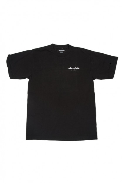 Cafe Nyleta Staff Tee - Black
