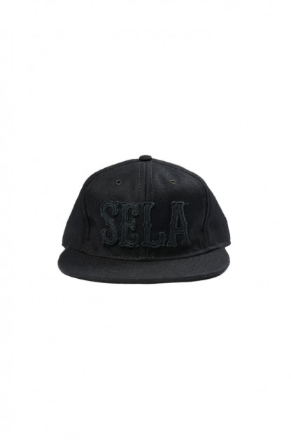 Ebbet's Field for Self Edge Cap - SELA Blacked Out