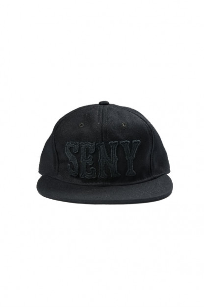 Ebbet's Field for Self Edge Cap - SENY Blacked Out
