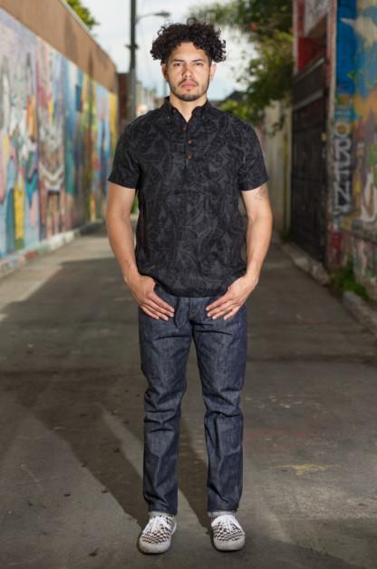 Studio D'Artisan Memphis x Zimbabwe Cotton Fiber Jeans - Slim Tapered D1712S