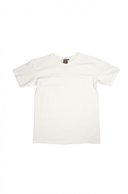 Studio D'Artisan Tsuri-Ami Loopwheeled Blank T-Shirts - Plastic-Packed White