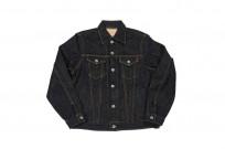 Iron Heart Type III 21oz Indigo Jacket w/ Hand Pockets - Image 2