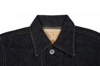 Iron Heart Type III 21oz Indigo Jacket w/ Hand Pockets - Image 4