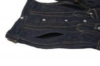 Iron Heart Type III 21oz Indigo Jacket w/ Hand Pockets - Image 6