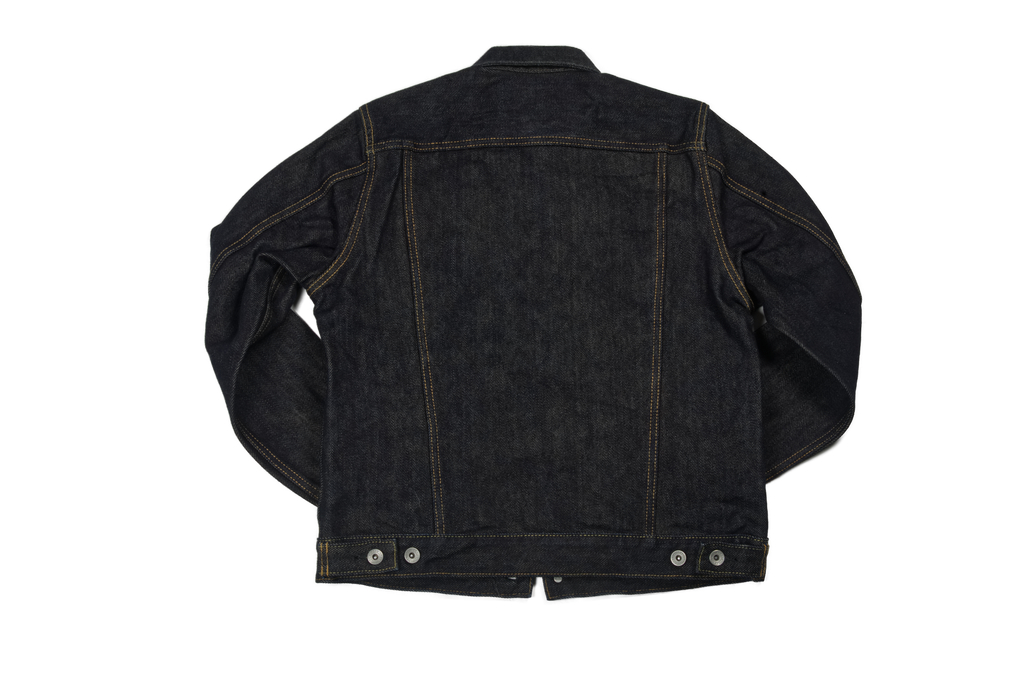Iron Heart Type III 21oz Indigo Jacket w/ Hand Pockets - Image 8
