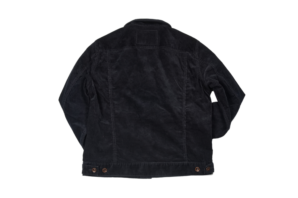 Iron Heart Corduroy Modified Type III Jacket - Black - Image 9