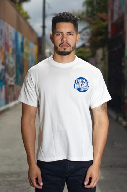 Iron Heart 7.5oz Printed T-Shirt - Denim Company