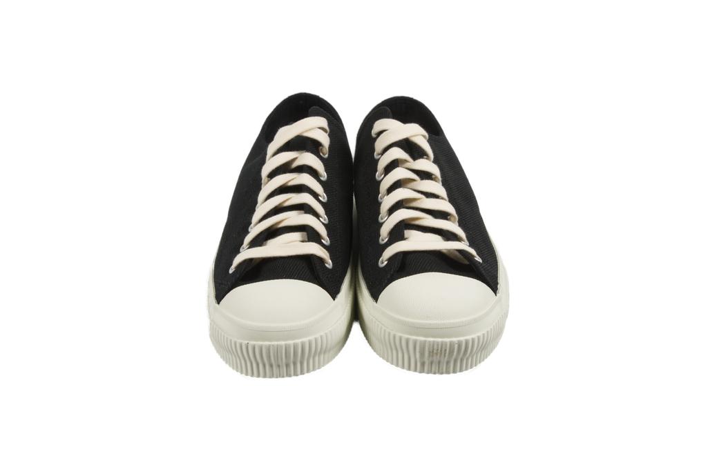 Iron Heart 21oz Denim Sneakers - Low-Top Super Black - Image 2