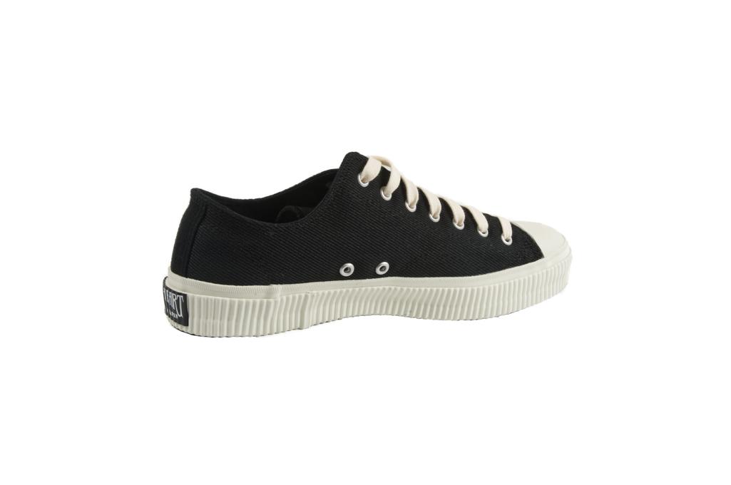 Iron Heart 21oz Denim Sneakers - Low-Top Super Black - Image 5